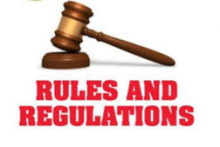 RULES, REGULATIONS AND CODE OF CONDUCT FOR STUDENTS